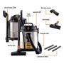 Aspirador de Água e Pó GTW12 Inox - Wap