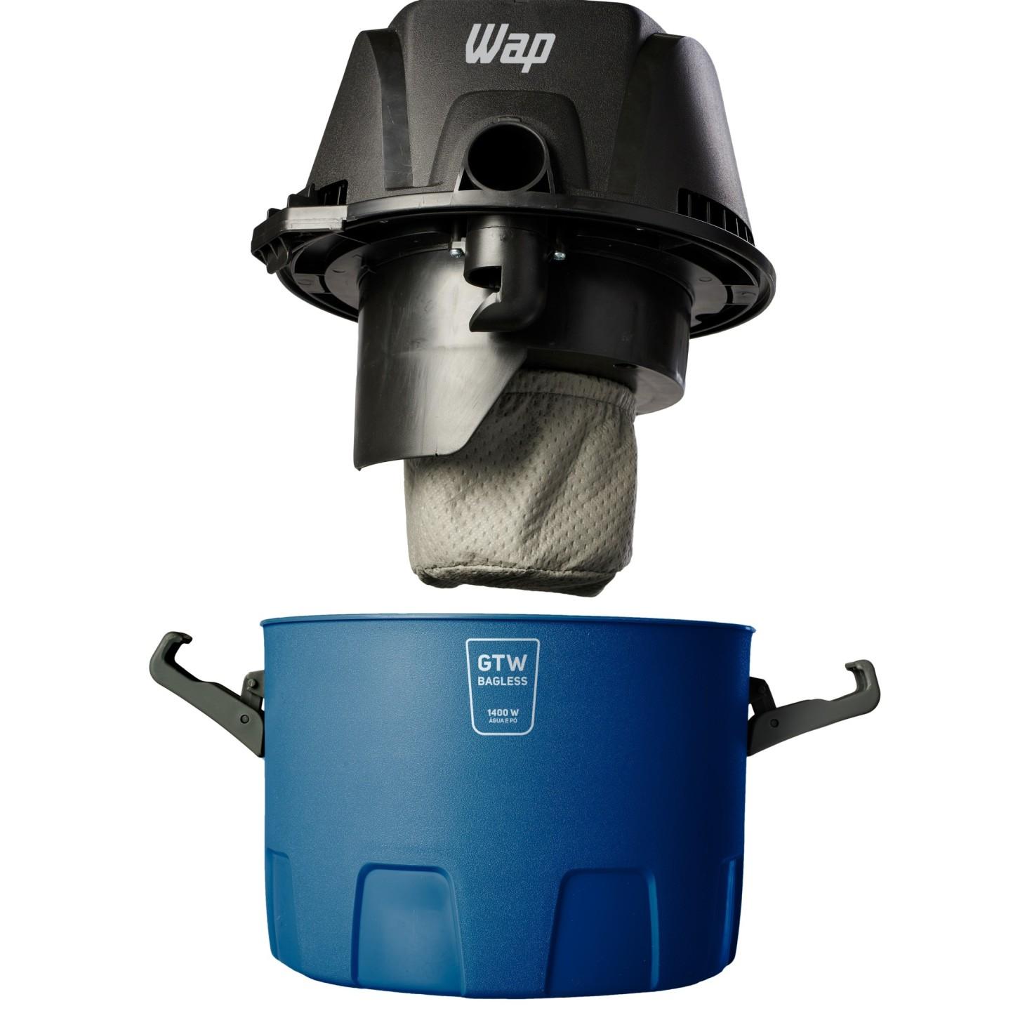 Aspirador GTW Bagless - Wap