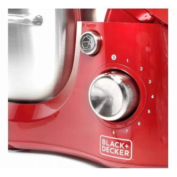Batedeira Planetária 3L Vermelha PLAN1000V - Black+Decker