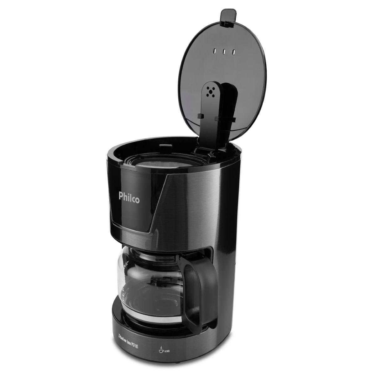 Cafeteira PCF18T Titanium Inox 18 cafés - Philco