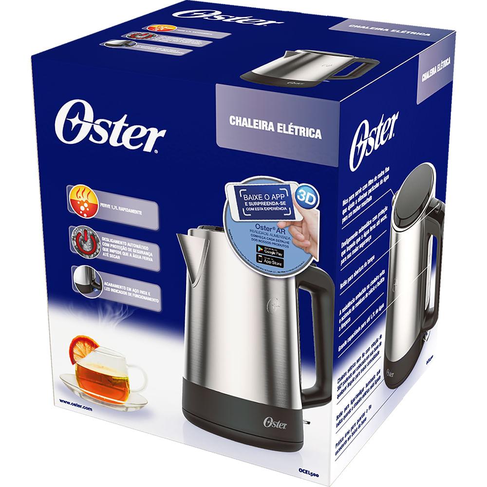 Chaleira Elétrica Day Light Inox 1,7L - OCEL500 - Oster