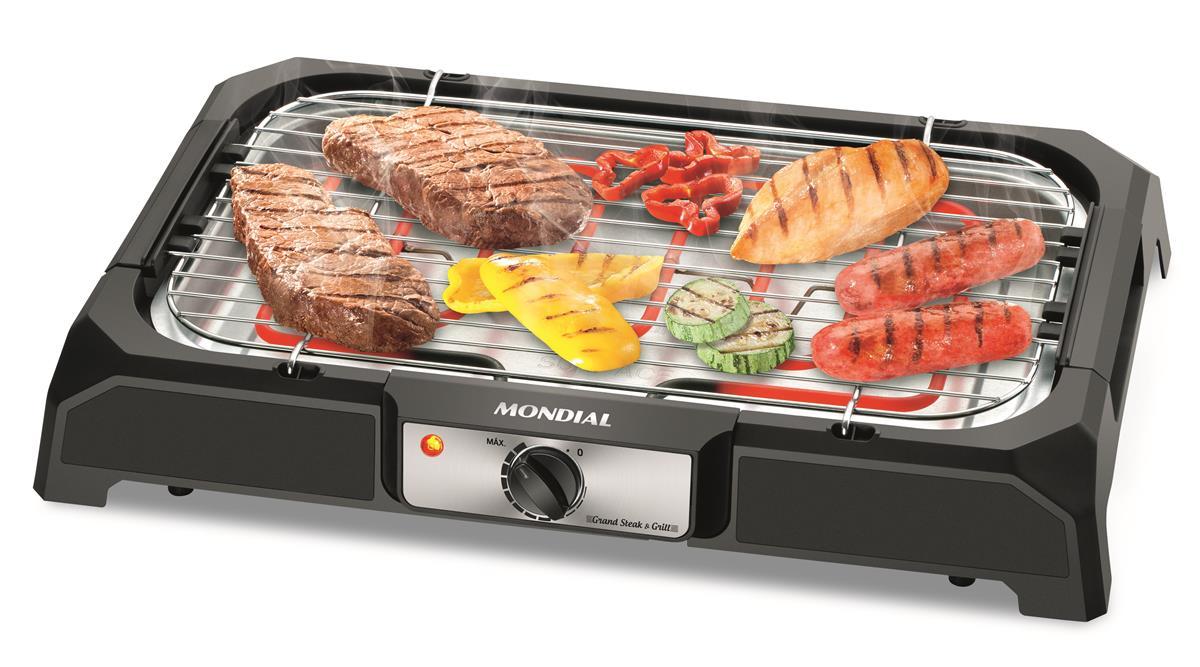 Churrasqueira Elétrica Grand Steak & Grill (CH-05) - Mondial