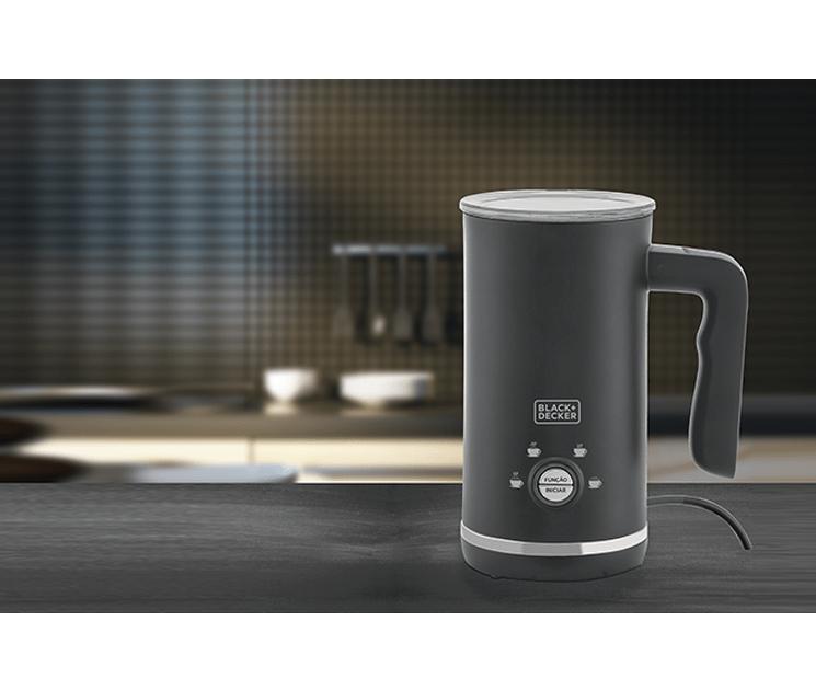 Espumador de Leite com 4 Funções EL500 - Gourmand Gris - Black+Decker
