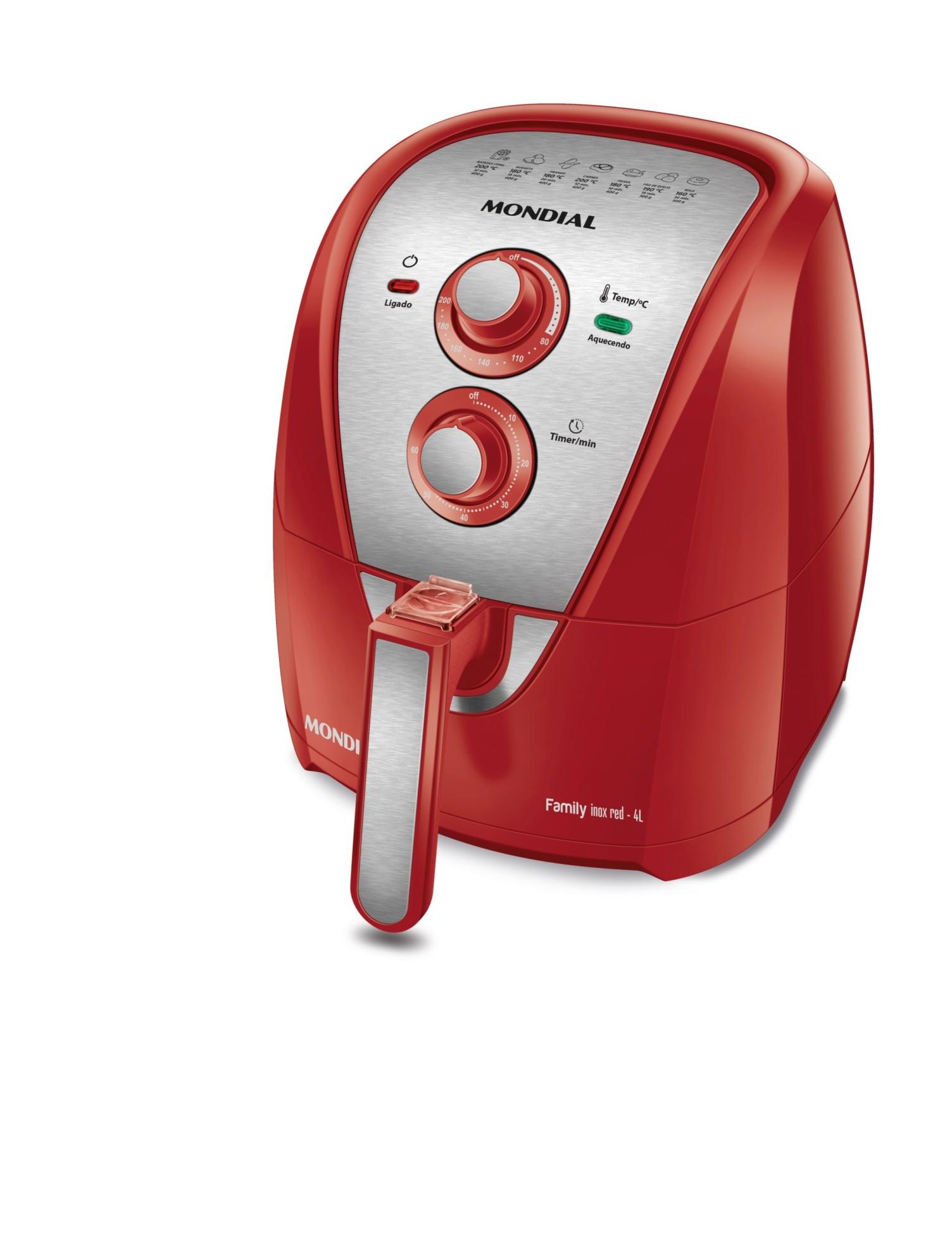 Fritadeira Air Fryer 4L (AFN-40-RI) - Mondial
