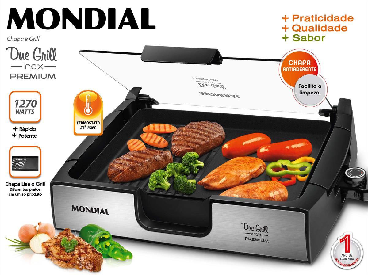 Grill Due Grill Premium (G-10) - Mondial