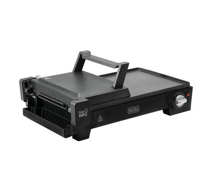 Grill Elétrico 3 em 1 G2200 - Black+Decker