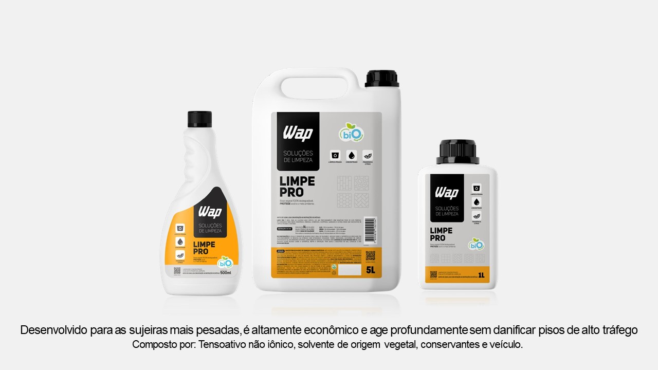 Limpe Pro 5L - Solução de Limpeza Wap