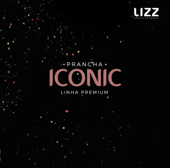 Prancha Iconic 450 - DA1000 - 230ºC - Bivolt - Lizz