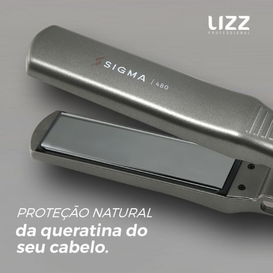 Prancha Profissional Sigma 480 - HM5000 - 250ºC - Bivolt - Lizz