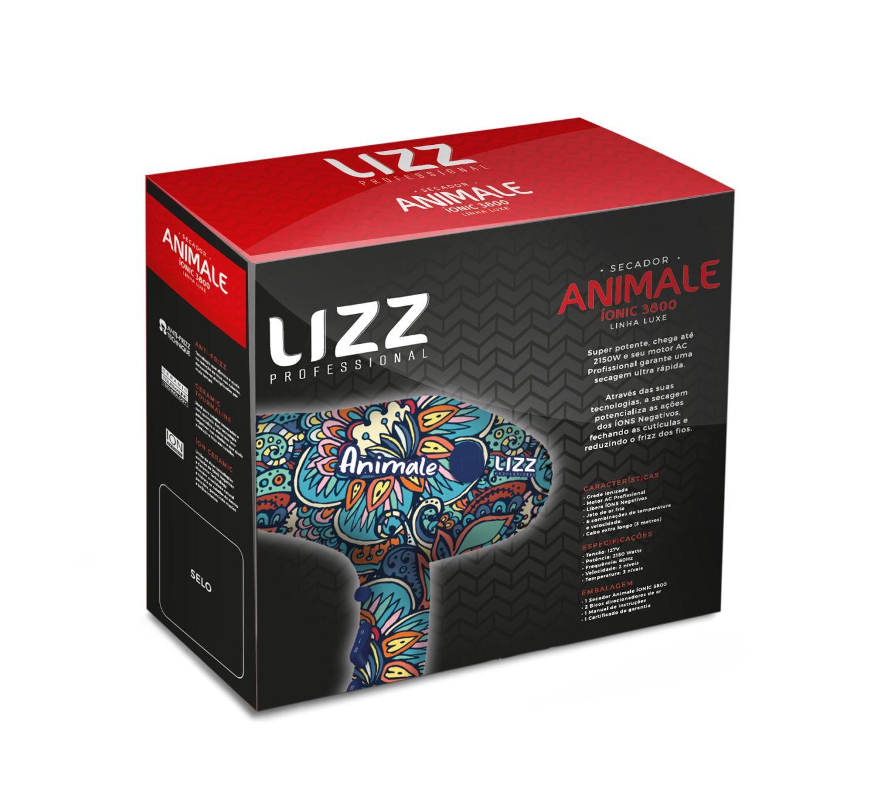 Secador Animale 3800 Ionic - ST7070 - Lizz
