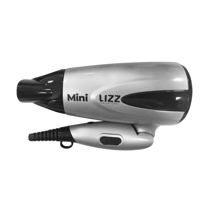 Secador de Cabelos Mini Dobrável Prata - JF1002 - Bivolt - Lizz