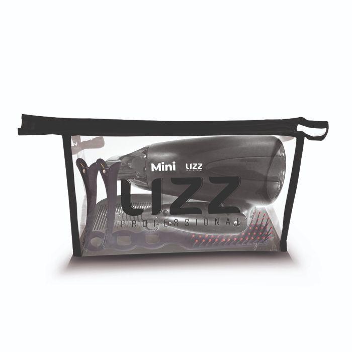 Secador de Cabelos Mini Dobrável Preto - JF1001 - Bivolt - Lizz