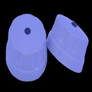 Manopla Giratória - Prata Soft - Modelo Antigo