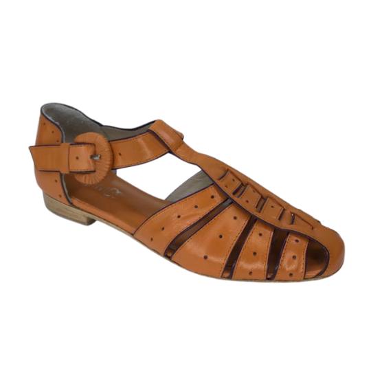 Sandália Lissa Pelica Laranja 2,5 cm