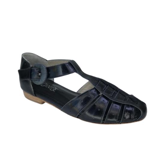 Sandália Lissa Pelica Preta 2,5 cm