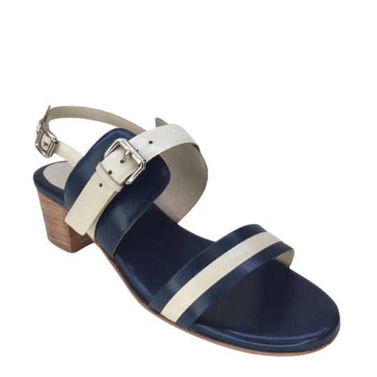 Sandália Stella Pelica Azul Marinho 4,5 cm