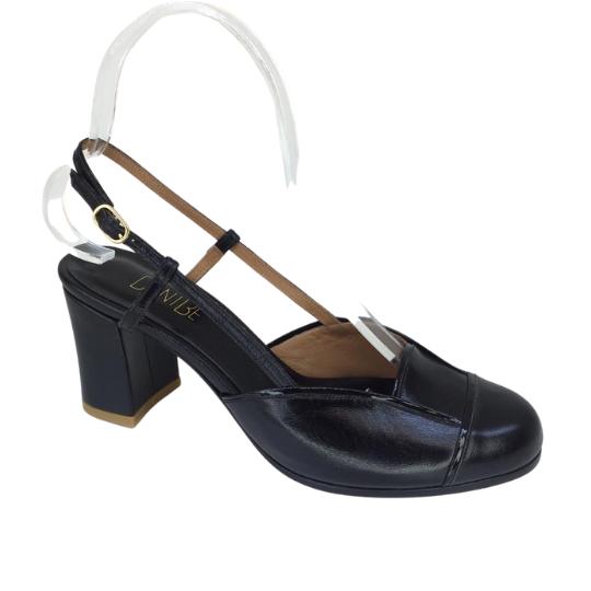 Sapato Gio Preta 6 cm