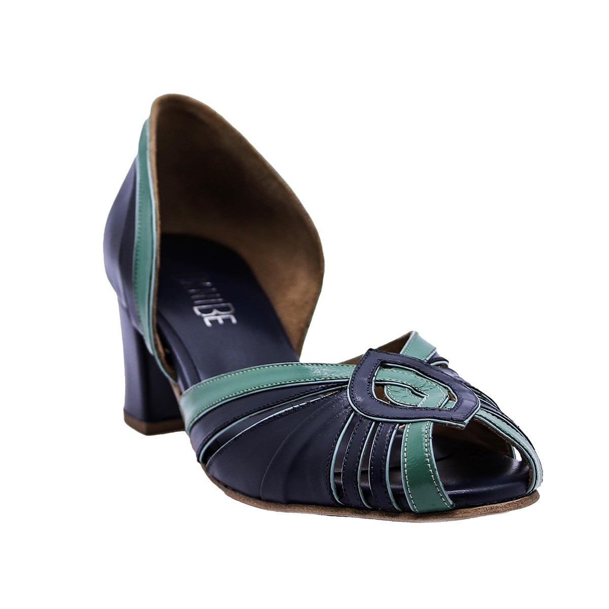 Sapato Ieda Azul 5 cm