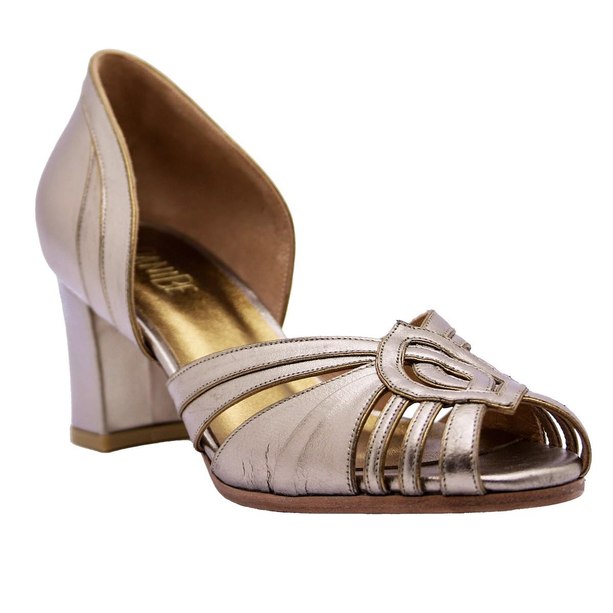 Sapato Ieda Prata Velho 6 cm