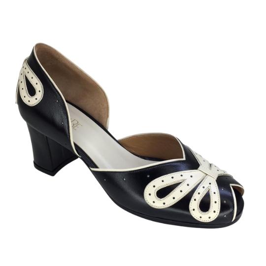 Sapato Laço Preta 6 cm