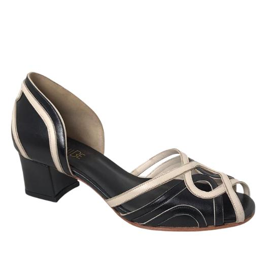 Sapato Malu Pelica Preta 4 cm