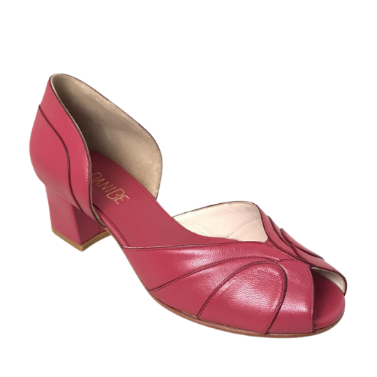Sapato Paula Pelica Pink 4 cm