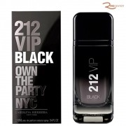 212 Vip Black Carolina Herrera Eau de Parfum - 100ml