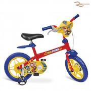 Bicicleta Bandeirante Aro 12 Patrulha Canina +3a