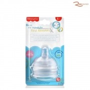 Bico de Mamadeira Fisher-Price First Moments 2 Unidades +2m