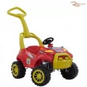 Brinquedo Bandeirante Carrinho Smart Passeio com Pedal Vermelho +2a