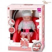 Brinquedo Boneca Roma Babies Dia de Passeio +3a