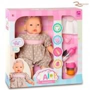 Brinquedo Boneca Roma Claire Acessórios +3a