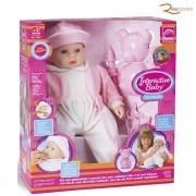 Brinquedo Boneca Roma Interactive Baby Inalação +3a