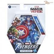 Brinquedo Boneco Hasbro Gamer Verse Capitão America  +4a