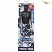 Brinquedo Boneco Hasbro Titan Hero Pantera Negra Marvel +4a