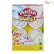 Brinquedo Hasbro Massa de Modelar Play-Doh Core Color Burst +3a