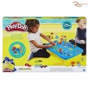 Brinquedo Hasbro Play-Doh Mesa de Atividades Massinha De Modelar +3a