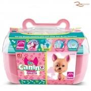 Brinquedo Maleta Roma Dr. Canino Rosa +3a