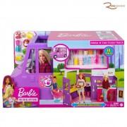 Brinquedo Mattel Veiculo Barbie Fresh´n Fun Food Truck +3a