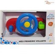 Brinquedo Multi Kids Meu Primeiro Volante +12m
