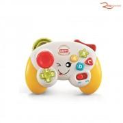 Brinquedo MultiKids Baby Meu Primeiro Controle Com Luz e Som +18m