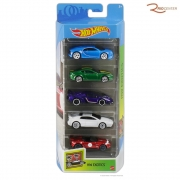 Brinquedo Pack 5 Carrinhos Mattel Hot Wheels  +3a