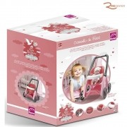 Brinquedo Roma Babies Carrinho de Bebê +3a