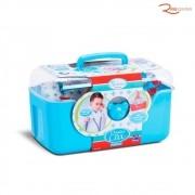 Brinquedo Roma Jensen Babies Maleta Doutor e Cia Azul +3a