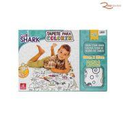 Brinquedo Tapete Para Colorir Club Shark - Brincadeira De Criança +4a