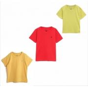Camiseta Mangas Curtas Lisa Marisol