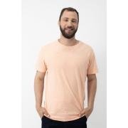Camiseta Stone com Gola Careca AD Coral