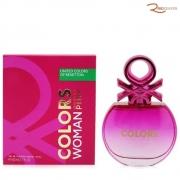 Colors Woman Pink Benetton Eau de Toilette - 80ml