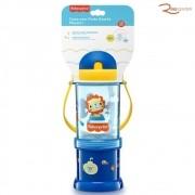 Copo Fisher-Price com Porta Snacks Playful Azul +12m