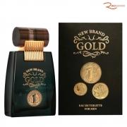Eau de Toilette New Brand Gold For Men - 100ml